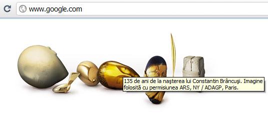 google doodles brancusi