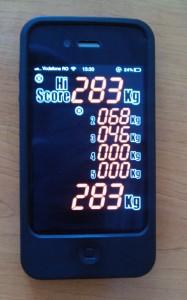 iphone - forta lovirii cu pumnul