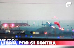Confuzie Antena 1 Liban - Libia