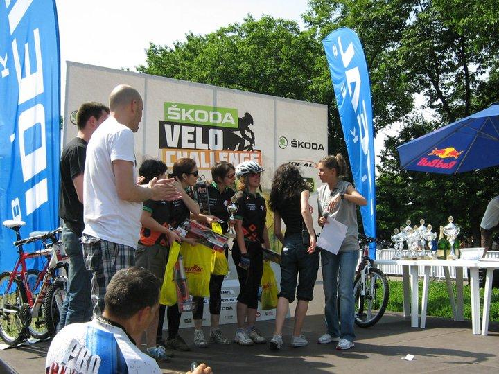 4PSA bronz la Skoda Velo Challange 2011