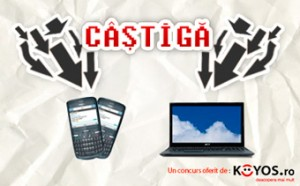 Concurs playtech.ro - nokia c3 si asus x52f