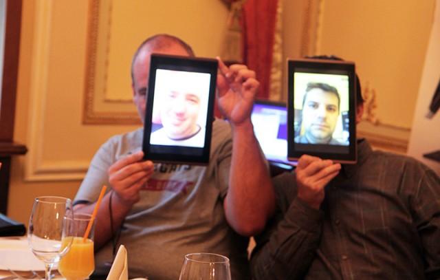Ionut Paraschiv si Dan Dragomir la ASUS Social Media Meet