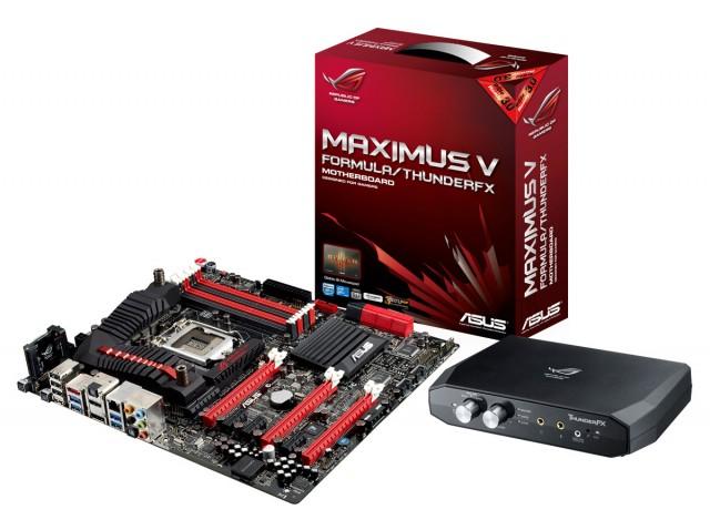 Placa de bază ASUS ROG Maximus V Formula cu ThunderFX