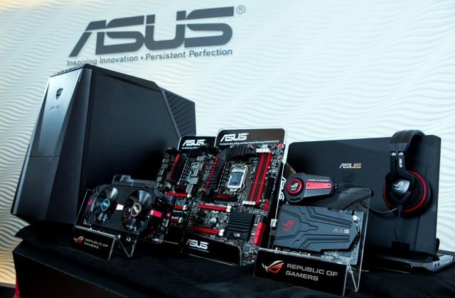 Componente de gaming lansate de ASUS la Computex 2012