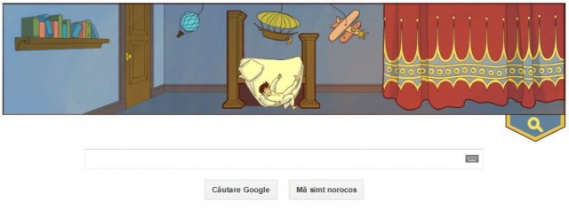 google doodle - little nemo - search