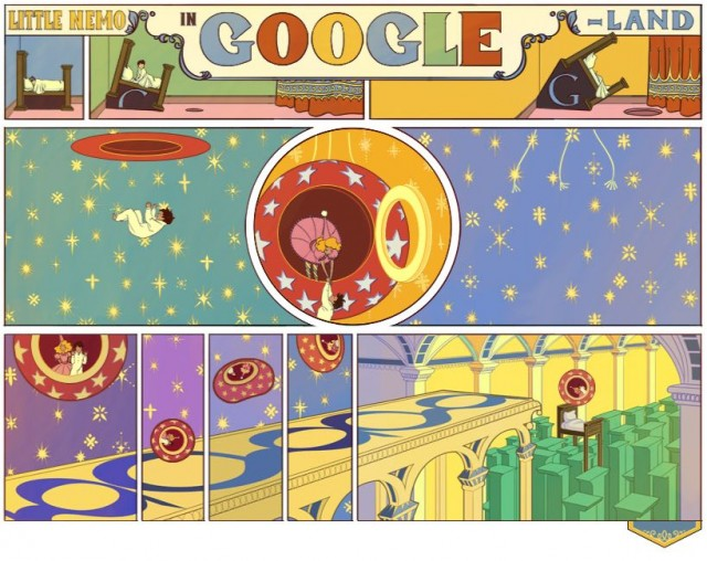 google doodle - little nemo