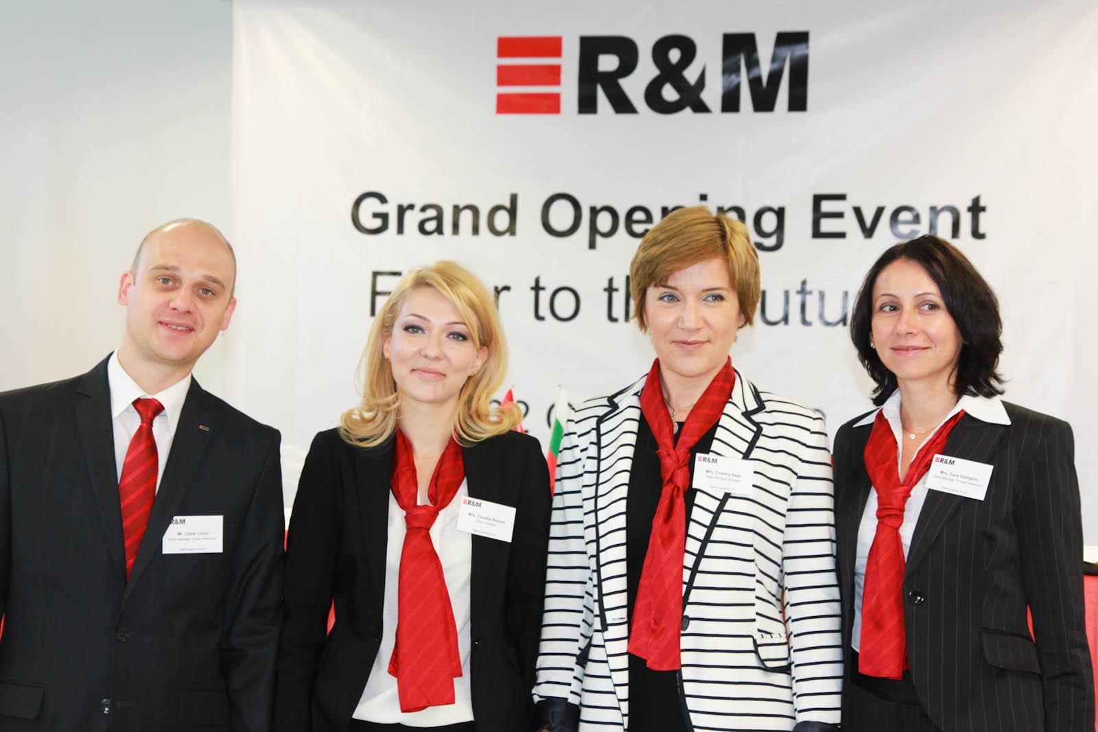 Echipa R&M Romania