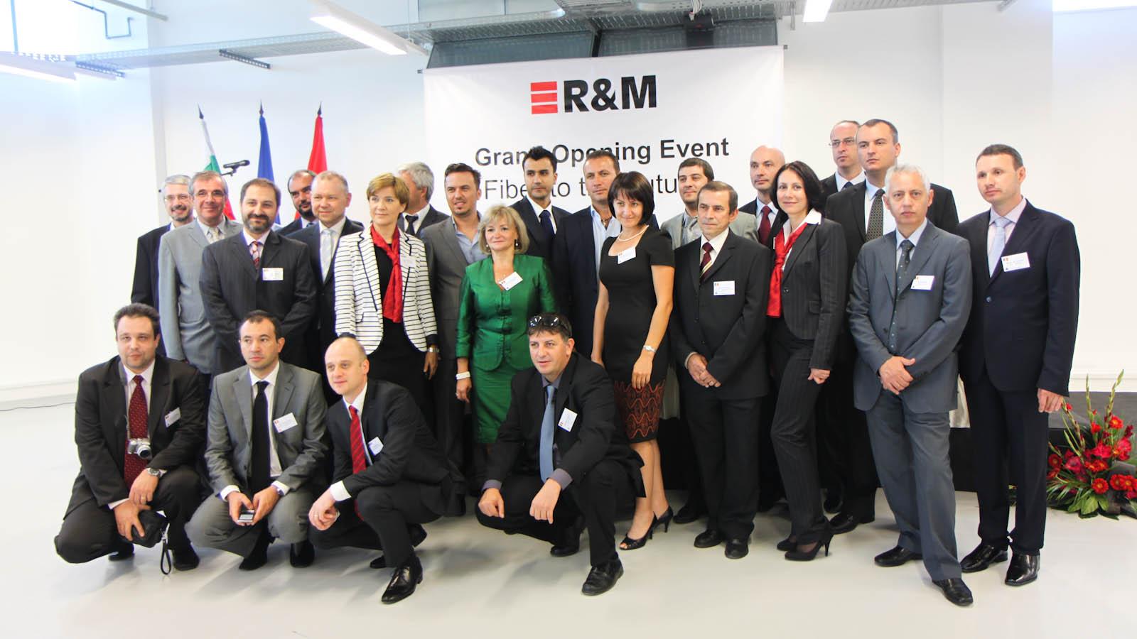 Partenerii R&M din Romania in vizita la Sofia