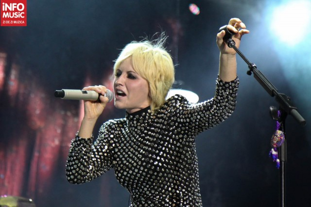 The Cranberries in concert la Romexpo (Foto: InfoMusic.ro)