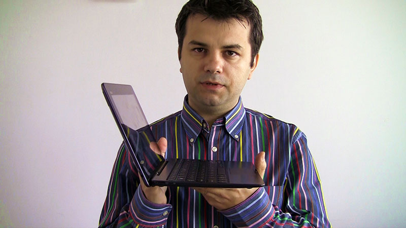 Ionut Paraschiv - prezentare video a tabletei ASUS TF701T